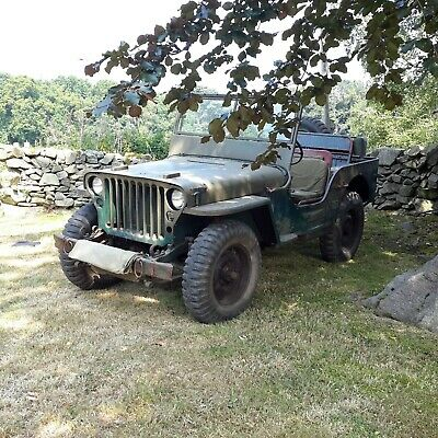 1943 Willys Jeep MB Military Vehicle Classic Car Barn Find • 22,500£