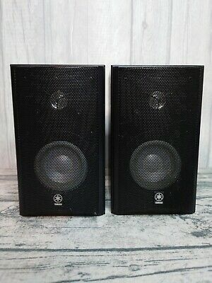 Yamaha NX-E440 Speakers Piano Black HiFi Stereo Suits Any Decent Amplifier • 44.99£