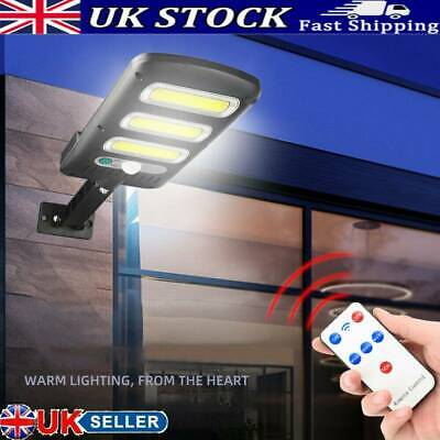 Waterproof Solar Powered Motion Sensor Outdoor Wall Light Driveway Street Lamp • 11.21£
