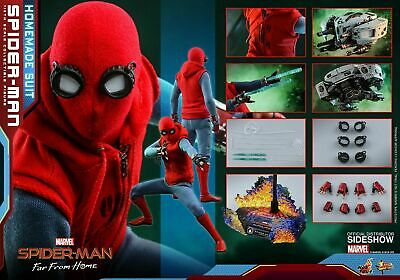 $ CDN485.92 • Buy Hot Toys Mms552 Spiderman Far From Home Homemade Suit 1/6 Drone In Stock
