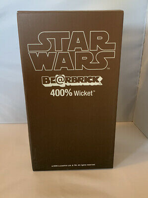 $180 • Buy MEDICOM TOY Star Wars Wicket Bear Brick 400% Winter 2006 Wonder Festival Limited