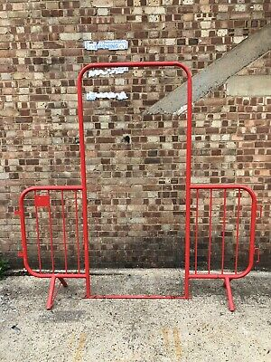 £50 • Buy Used Walkthrough Site Crowd Safety Pedestrian Fencing Barriers Shops Building