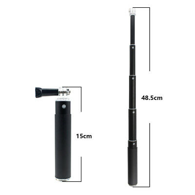 AU10.80 • Buy Monopod Selfie Stick Extendable For GoPro HERO 9 Action Camera Phone