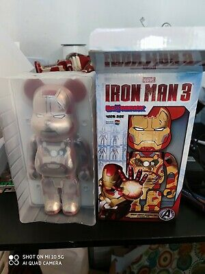 $405.51 • Buy Bearbrick  Iron Man 3 , Mark 42 ( Damage Version )  400% , Medicom , Be@arbrick