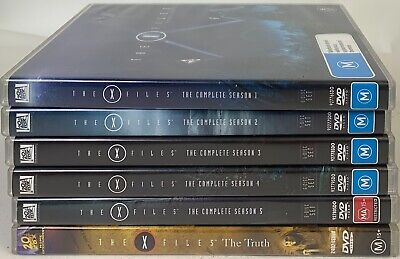 AU59.95 • Buy The X-Files Season 1-5 DVD Region 4 Discs Very Good Sent Tracked