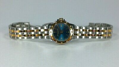 RAYMOND WEIL Tango 18k Gold Plated Ladies Quartz Watch Blue Dial Boxes & Books  • 245£