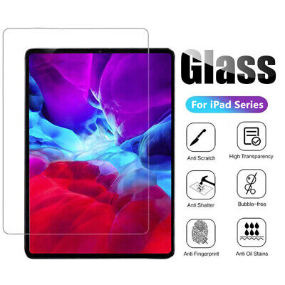 AU7.99 • Buy For IPad 5th 6th 7th 8th Gen Tempered Glass High Quality Screen Protector