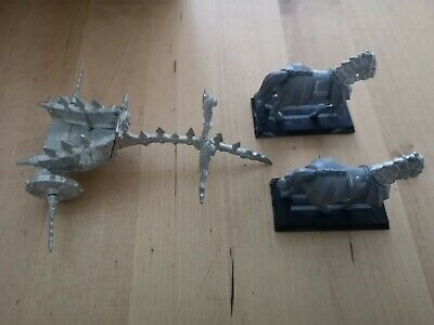 Warhammer Fantasy Chaos Chariot Metal With Plastic Horses No Crew • 11.99£