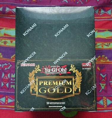 YUGIOH PREMIUM GOLD 1 PGLD BOOSTER BOX CASE *FACTORY SEALED* *NEW* *1st EDITION* • 299.99£