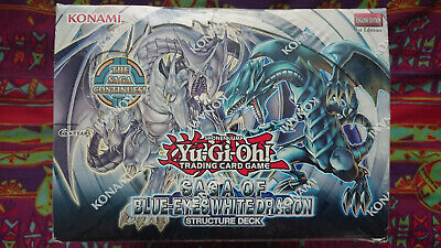 Yugioh Saga Of The Blue Eyes White Dragon Deck Case *factory Sealed 1st Edition* • 399.99£