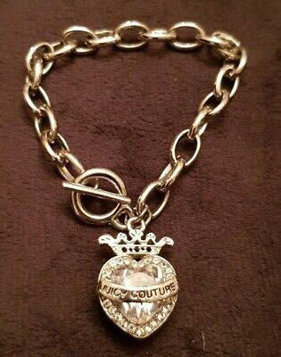 Juicy Couture Crown Charm Bracelet • 20£