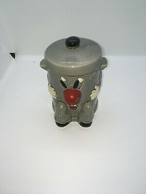 Vintage Dusty Bin Money Box   3- 2- 1 Ted Rogers Original 321 Game Show 1980's • 29.95£