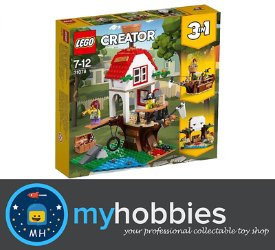 AU59.99 • Buy LEGO® Creator 3in1 31078 Treehouse Treasures Brand New And Sealed