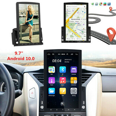 $167.91 • Buy 9.7'' Vertical Screen Android 10.0 Stereo Radio GPS WIFI Video Multimedia Player