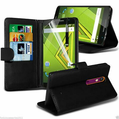 $ CDN10.21 • Buy Leather Wallet Flip Book Phone Case Cover Stand Card Holder✔Samsung Apple Huawei