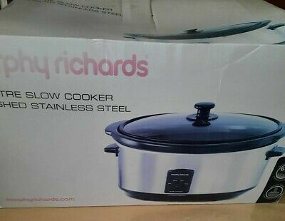 Morphy Richards Slow Cooker 6.5l • 20£