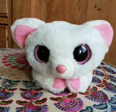 Aurora Yoohoo & Friends Pammee Fennec Fox White & Pink Plush Soft Stuffed Toy 7  • 9.95£