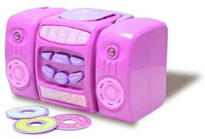 £18.82 • Buy Amazing Crystal Gifts Chad Valley CD Player - Pink And Pressing Play To Hear