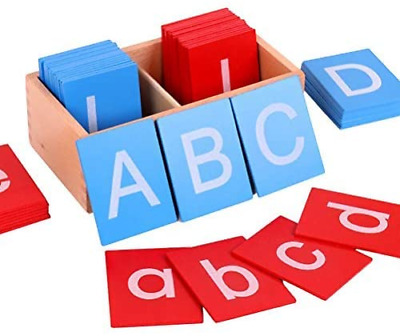 £36.75 • Buy Woorea Montessori Toys For 3 Year Olds Montessori Sandpaper Letters Educational
