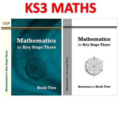 KS3 Years 7-9 Maths Textbook 2 With Answer Book CGP • 14.69£