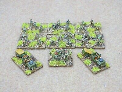 10mm WW2 British Airborne ROYAL ENGINEERS Well Painted Pendraken 75759 • 20£