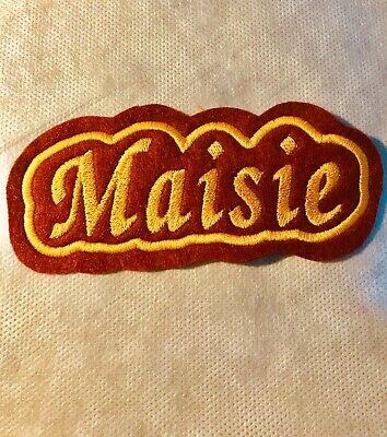 Personalised Embroidered Name Patch, Badge • 2.30£