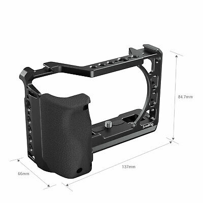 $ CDN64.25 • Buy SmallRig Cage Camera For Sony A6100/ A6300 /A6400 Series With Silicone Handle