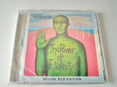 WISHBONE ASH -The Power Of Eternity  Deluxe Edition 2CD NEW/SEALED 2014 TECD258 • 8.99£