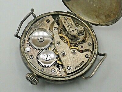 $ CDN25 • Buy Vintage A.W.C. CO Sterling Watch For Parts Or Repair