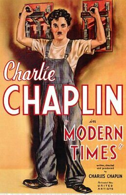 Charlie Chaplin Modern Times Movie Dvd.great Quality Picture • 2.75£