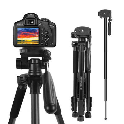 £26.99 • Buy ZOMEI Lightweight Travel Aluminum Tripod Monopod With Pan Head For Camera DSLR