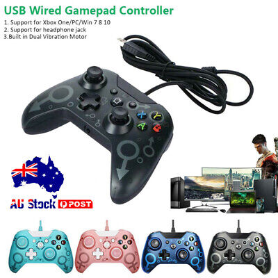AU38.90 • Buy USB Wired Controller Gamepad Joystick For Microsoft XBOX ONE PC WINDOWS 7 8 10