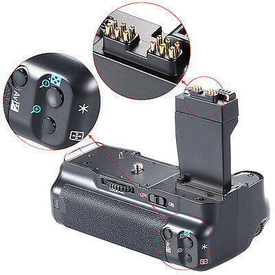 Pro Battery Grip Holder Replacement As BG-E8 For Canon EOS 550D 600D 650D 700D • 26.98£
