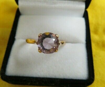 Lovely Vintage Ladies Ring Gold 9ct  With  Stone  Scrap House Clearance  • 89.99£