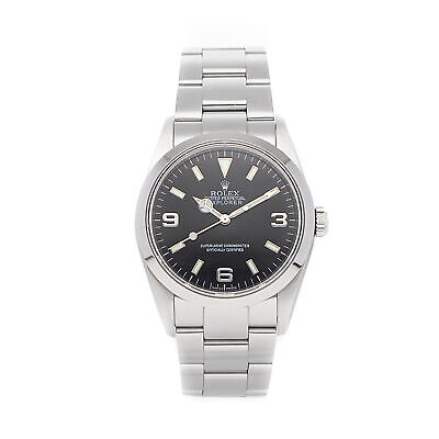 $ CDN8689.22 • Buy Rolex Explorer Auto 36mm Steel Mens Oyster Bracelet Watch 114270