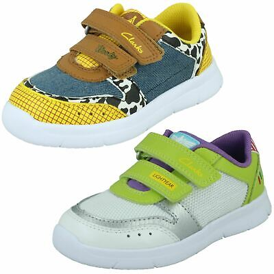 £34 • Buy Childrens Clarks Toy Story 'Ath Howdy T' Canvas & Leather Trainers - G Fitting
