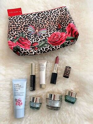 Perfect Gift Estee Lauder'PARADISE' Gift Set Cosmetics Bag & 7 Items WORTH £101 • 26.99£