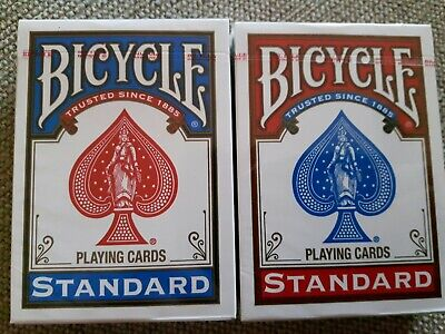 Standard Pack Of Bicycle Playing Cards Red Or Blue Deck Poker Casino  • 3.75£