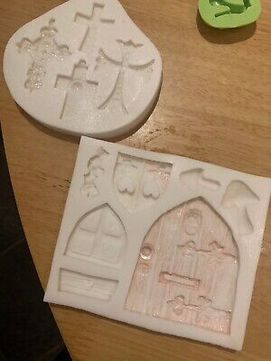 Sugarcraft Moulds (including CK Lace Makers And FPC Sugarcraft.) • 5£