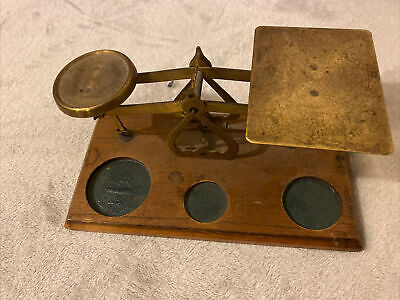 Vintage Post Office Scales Made In England No Weights  • 100£
