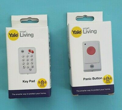 Yale Remote Control Key Pad + Panic Button For SR & EF Alarm Series With Battery • 34.90£