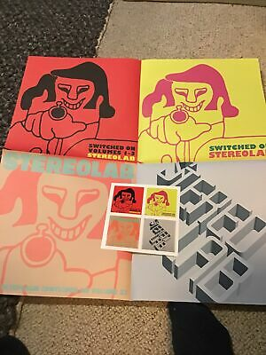 Stereolab Poster (24x24inc) & Stickers • 6.10£