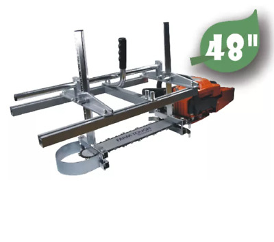 £117.49 • Buy 48 Inch Holzfforma® Chainsaw Mill Planking Milling From 18'' To 48'' Guide Bar 2
