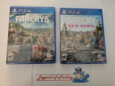 AU63.80 • Buy Far Cry 5 + New Dawn - Ps4 * New Sealed Game Lot * PlayStation 4