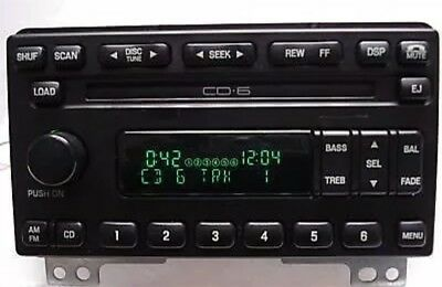 $147 • Buy ✅01-03 Ford Explorer Mustang Cougar Expedition OEM Radio AM FM CD6 Changer