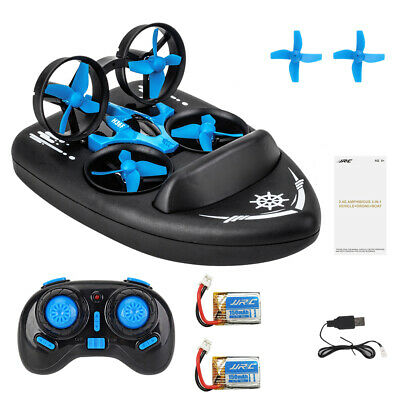 AU50.14 • Buy Jjrc H36F Terzetto With Two Batteries 1/20 2.4G 3 IN 1 RC Boat Vehicle Flying