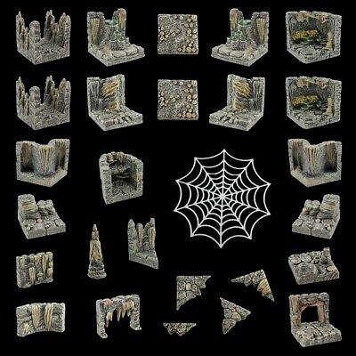 $ CDN177.11 • Buy Dwarven Forge Cavern Stretch Goal Set Kickstarter D&D Game Tiles PAINTED NEW
