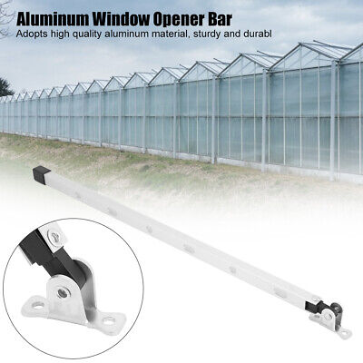 Manual Greenhouse Window Stay Kit Roof Vent Opener Bar Greenhouses Accessories • 5.89£