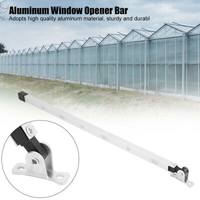Manual Greenhouse Window Stay Kit Roof Vent Opener Bar Greenhouses Accessories • 5.54£