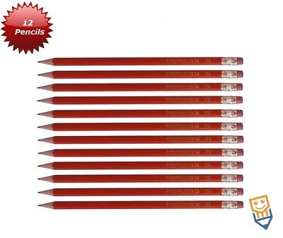 £3.25 • Buy 12 HB PENCILS WITH RUBBER Eraser Tip SCHOOL STATIONERY Kids Learning By OBuddy